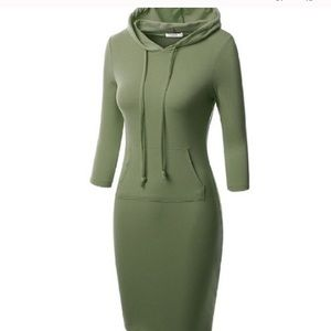 Dresses & Skirts - Khaki Sporty Dress